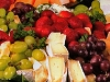 Gourmet Cheese and Fruit Platter