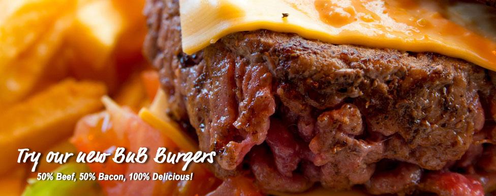 Beef/Bacon Burgers