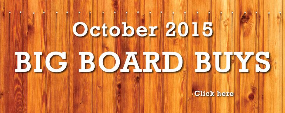 October Big Board Buys