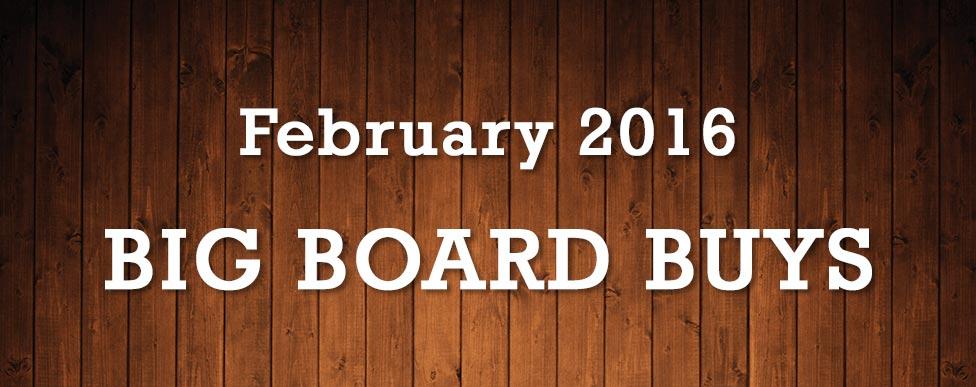 February Big Board