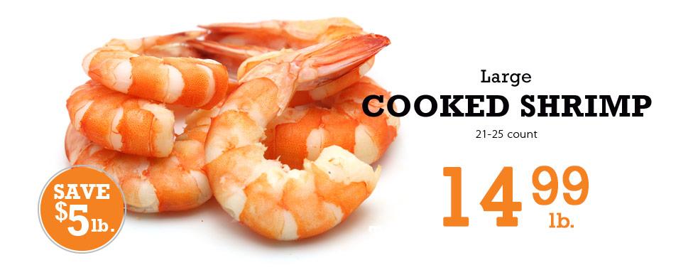 Cooked Shrimp 14.99lb