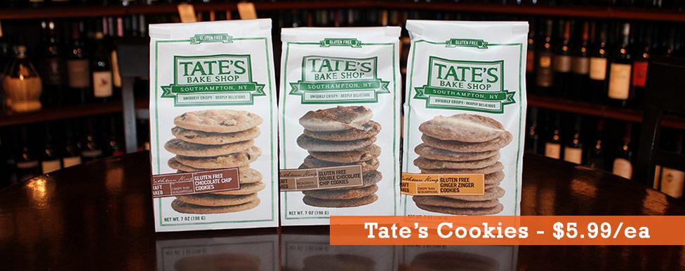 Tate's Cookies 5.99ea