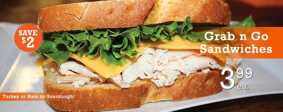 Grab n Go Sandwiches