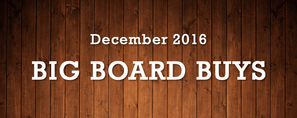 Big Board Buys December