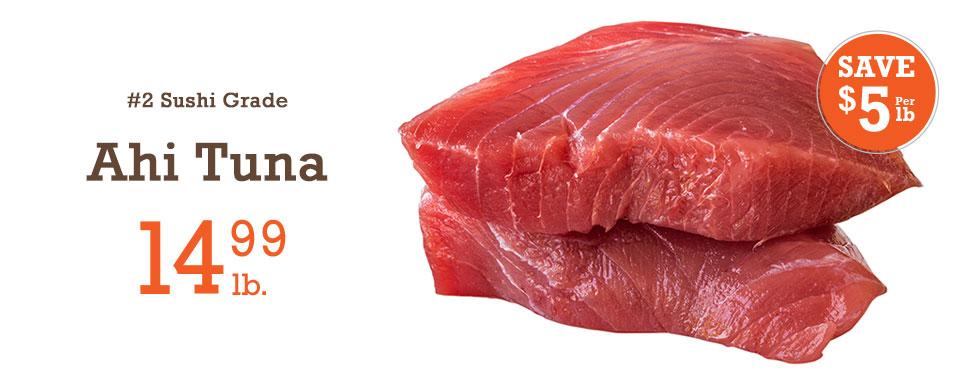 #2 Sushi Grade Ahi Tuna